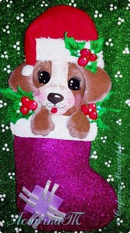 Такой замечательный пёсик получился у меня по МК Ирины З. Поделку можно использовать, как самостоятельное панно, открытку, обложку или ещё для чего, что душа пожелает. Лишь бы радовало глаз и поднимало настроение! фото 1