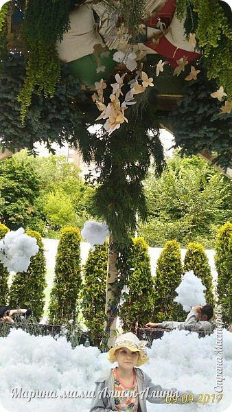 В этом году мы опять были на выставке город-сад. Основная цель нынешнего праздника, приуроченного к Году экологии, – демонстрация лучших достижений садово-паркового искусства, ландшафтного дизайна и повышение уровня экологической культуры. фото 18