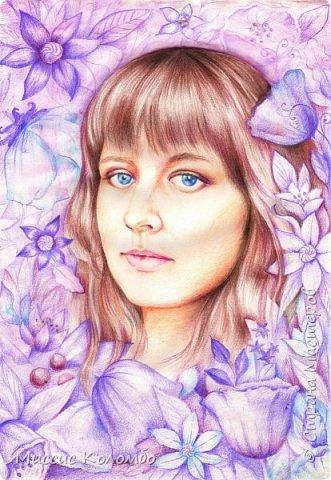 Просто портрет одной замечательной девушки :))