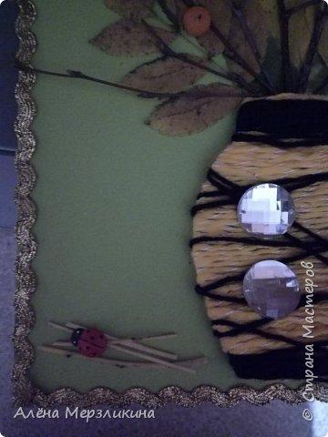"""Аппликация """"Осенний букет"""" фото 2"""