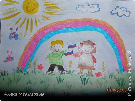 """Этот рисунок я нарисовала в школу на конкурс, посвященный творчеству Чайковского. """"Лебединое озеро"""" фото 5"""