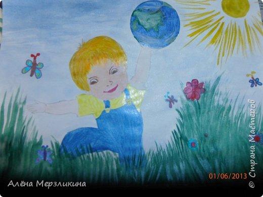 """Этот рисунок я нарисовала в школу на конкурс, посвященный творчеству Чайковского. """"Лебединое озеро"""" фото 4"""