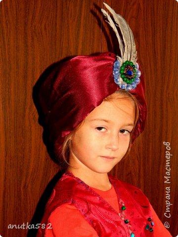 чалма султана и жилет. шила для сына! примерили все фото 1