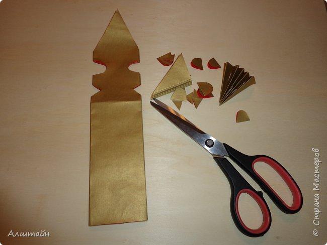 Праздничные украшения 3D из бумаги фото 21