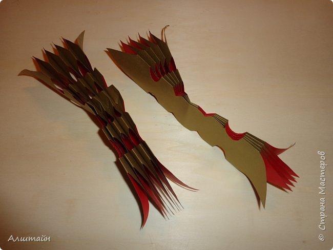 Праздничные украшения 3D из бумаги фото 23