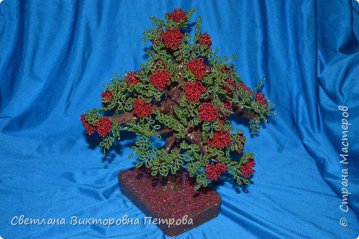 бисерные деревья фото 4