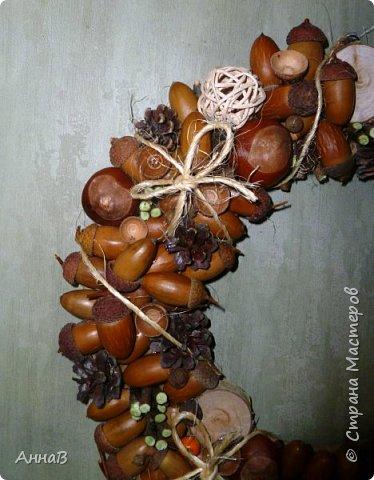 В последнее время я очень увлеклась изготовлением декоративных венков. Вот сделала несколько на осеннюю тему. фото 8