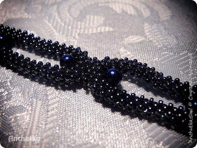 Наконец-то нашлось время выложить мое новое творение – браслет в технике квадратного жгута. фото 3