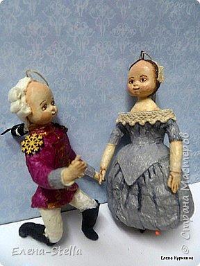 Всем привет и я рада очень всех видеть и быть в эфире!  Одна из моих любимых Новогодних сказок - Щелкунчик. О доброте, любви и мечте. Мария и Заколдованный принц любуются на праздник. фото 5