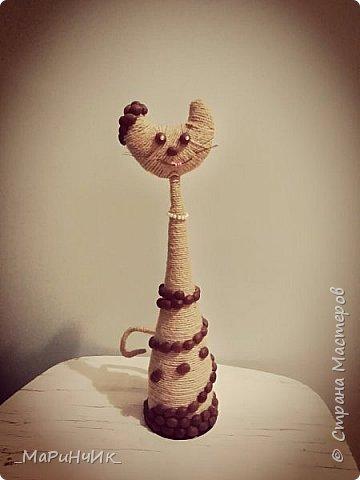 Теперь и у меня есть кофейная кошка, спасибо за вдохновение .Татьяна, http://stranamasterov.ru/node/493708?c=favorite фото 1
