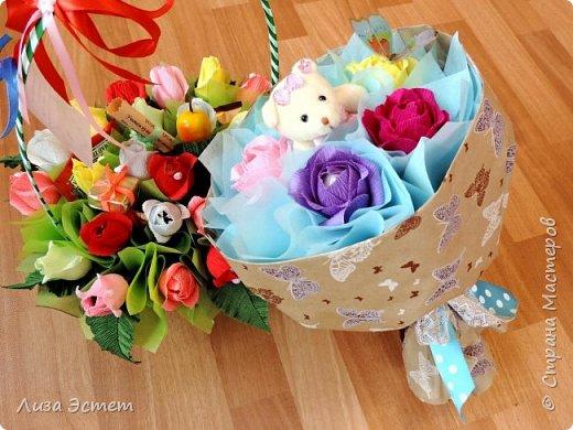 Детские букеты и подарки фото 3