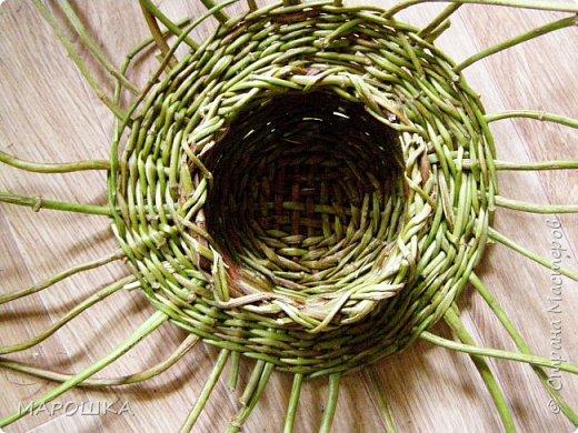 плетенка из стебельков хмеля зрела давно, но попробовать сплести из этих самых стебельков заставили сами стебельки, образовавшие заросли на заборе фото 15