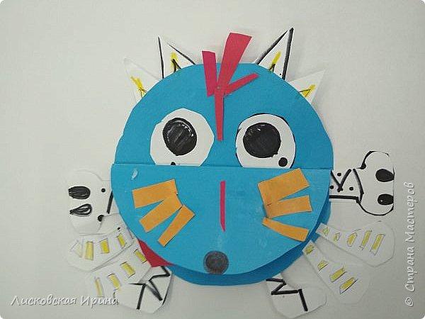 Привет Землянам! делали с детьми поделку из кругов. Получились такие вот инопланетяне. Это барышня фото 14