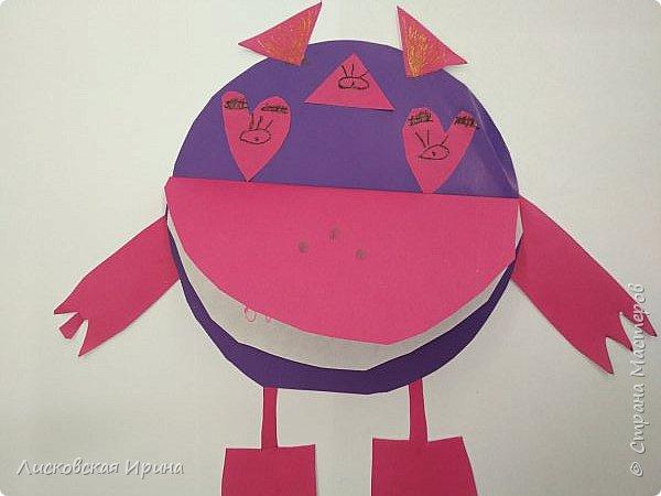 Привет Землянам! делали с детьми поделку из кругов. Получились такие вот инопланетяне. Это барышня фото 17