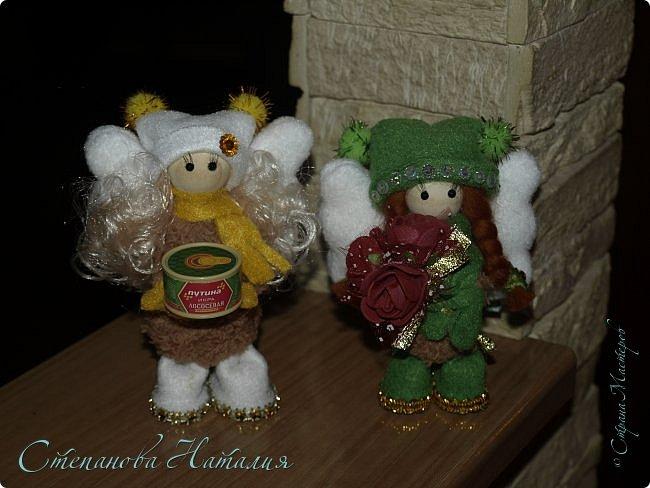 Продолжаю вас доставать своими куклёхами - ангелочками... фото 8
