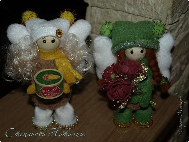 Продолжаю вас доставать своими куклёхами - ангелочками... фото 1