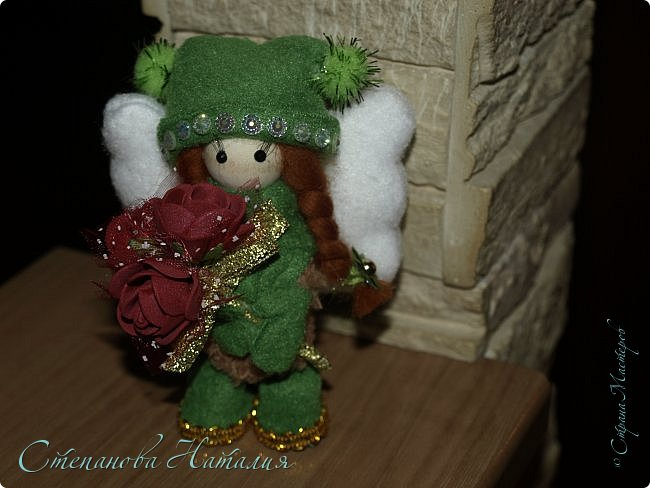 Продолжаю вас доставать своими куклёхами - ангелочками... фото 5