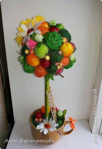 Первое фруктовое деревце))