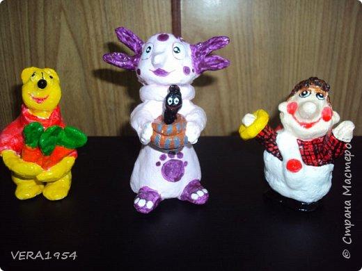 Добрый день!   Летние работы . Дети пробовали себя в лепке  куклы в русском  народном костюме. фото 5