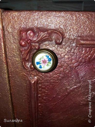 Вот такая тумба на 3 дверки, теперь стоит у меня в прихожей! фото 6
