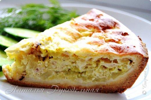 Капустные пироги самые любимые в нашей семье. Капусту можно делать с яйцом тоже будет вкусно. Но мои мужчины больше любят мясо )) фото 1