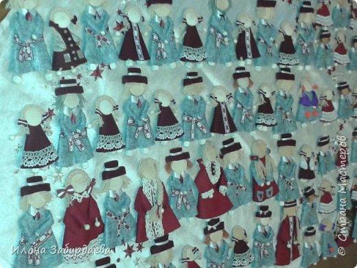 Куколки сувенирные, в национальном стиле и в цветах символики нашего техникума, на подарки иностранным гостям техникума, так как иностранные гости ценят именно ручную работу. Это малышки, которых можно пристегнуть к одежде или как брелок к сумке. фото 8