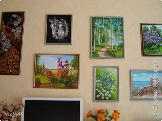 Цветочная живопись акрилом фото 8