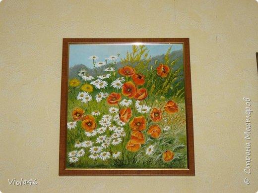 Цветочная живопись акрилом фото 4