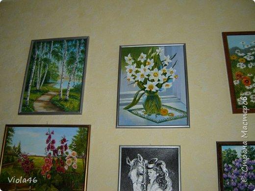 Цветочная живопись акрилом фото 9
