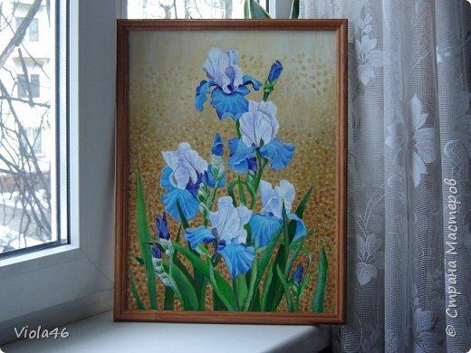 Цветочная живопись акрилом фото 6