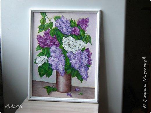 Цветочная живопись акрилом фото 2