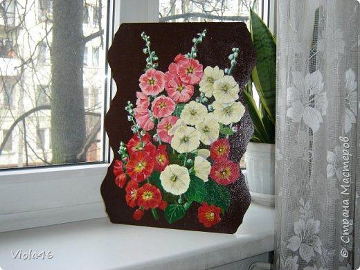 Цветочная живопись акрилом фото 7