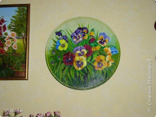 Цветочная живопись акрилом фото 1