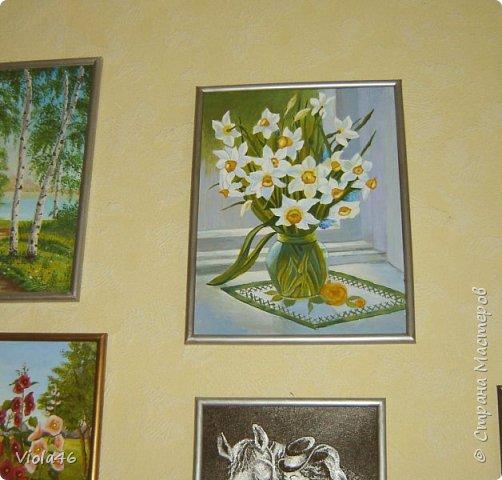 Цветочная живопись акрилом фото 3