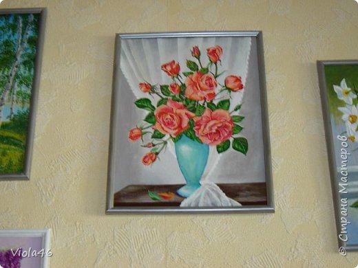Цветочная живопись акрилом фото 5