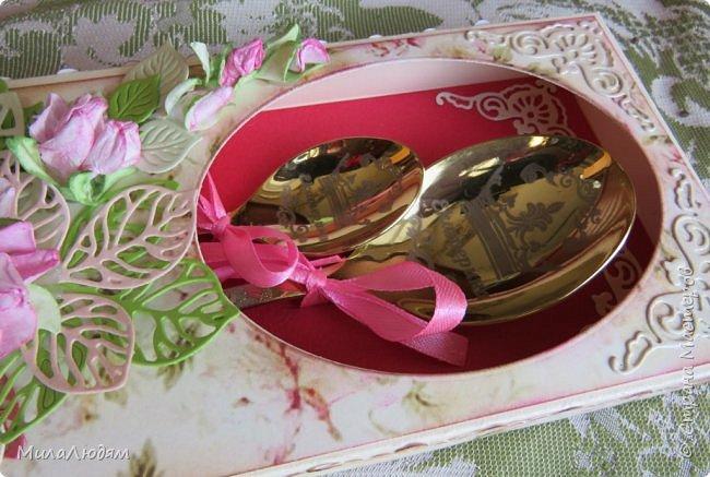 Здравствуйте! Поступил мне заказ красиво оформить ложки именные в подарок на юбилей. Я взялась. Мне очень интересно было. Заказчица была в восторге, а сегодня их получила именинница. Ее мнение пока не знаю. фото 10