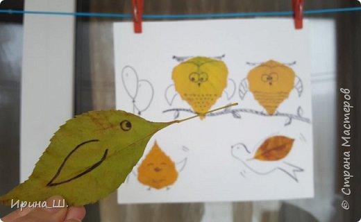 Осенние листья - помощник в развитии воображения