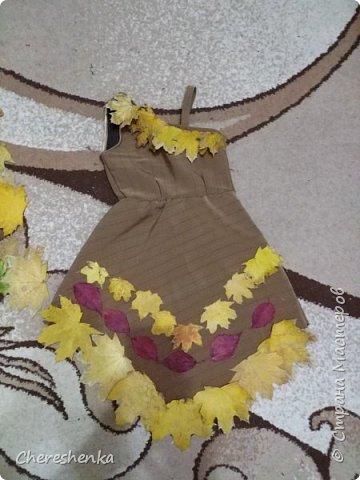 """У нас получился вот такой образ. Хотели назвать его принцесса индейцев, но т.к. осень, то у нас получилась """"принцесса осени"""". Хотя, когда этот костюм увидел друг семьи, то он более точно дал ему название """"шаман осени"""". фото 4"""