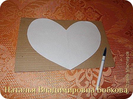 Мастер-класс по изготовлению панно  «Валентинка» .  фото 24