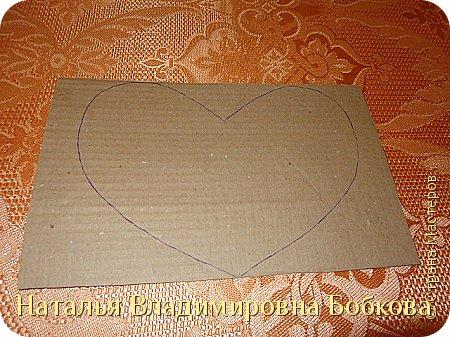 Мастер-класс по изготовлению панно  «Валентинка» .  фото 25