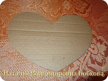 Мастер-класс по изготовлению панно  «Валентинка» .  фото 26