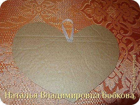 Мастер-класс по изготовлению панно  «Валентинка» .  фото 28