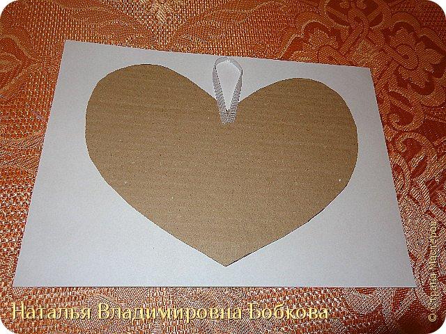 Мастер-класс по изготовлению панно  «Валентинка» .  фото 29