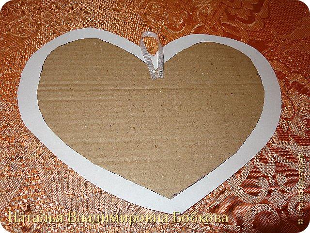Мастер-класс по изготовлению панно  «Валентинка» .  фото 30