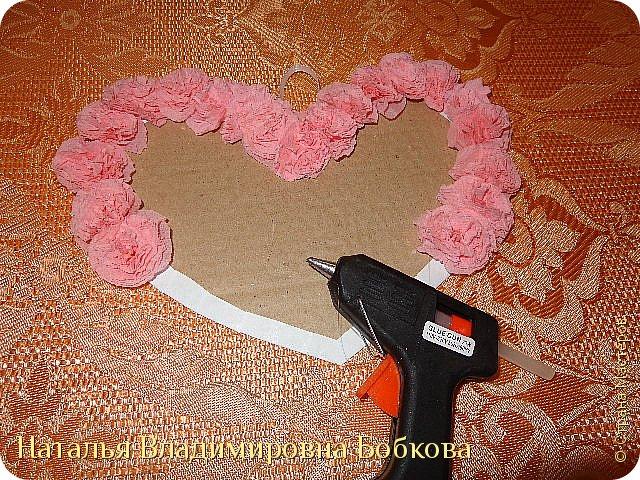 Мастер-класс по изготовлению панно  «Валентинка» .  фото 33