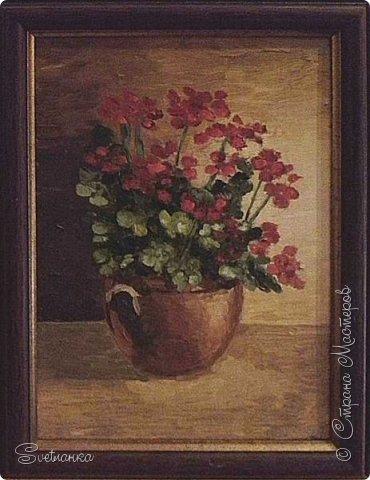 Очень люблю писать цветы! Пожалуй, большинство картин у меня - цветы! Вот несколько свободных копий работ разных художников. Дерек Пеникс (Derek Penix) - молодой американский художник 1980 г.р. из Оклахомы. фото 11
