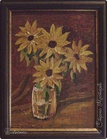 Очень люблю писать цветы! Пожалуй, большинство картин у меня - цветы! Вот несколько свободных копий работ разных художников. Дерек Пеникс (Derek Penix) - молодой американский художник 1980 г.р. из Оклахомы. фото 9