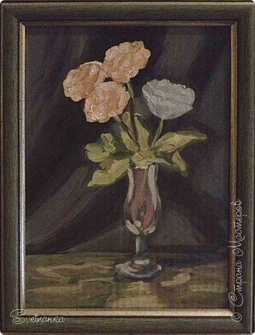Очень люблю писать цветы! Пожалуй, большинство картин у меня - цветы! Вот несколько свободных копий работ разных художников. Дерек Пеникс (Derek Penix) - молодой американский художник 1980 г.р. из Оклахомы. фото 10