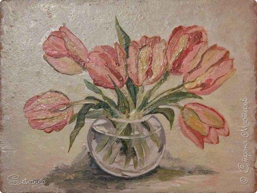 Очень люблю писать цветы! Пожалуй, большинство картин у меня - цветы! Вот несколько свободных копий работ разных художников. Дерек Пеникс (Derek Penix) - молодой американский художник 1980 г.р. из Оклахомы. фото 12