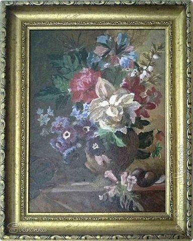 Очень люблю писать цветы! Пожалуй, большинство картин у меня - цветы! Вот несколько свободных копий работ разных художников. Дерек Пеникс (Derek Penix) - молодой американский художник 1980 г.р. из Оклахомы. фото 7